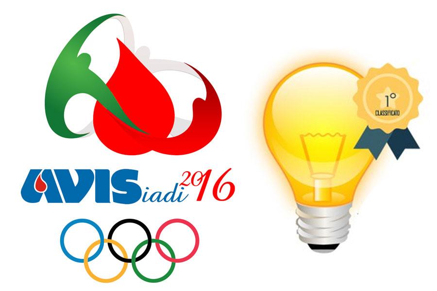 Il logo Avisiadi 2016 di Avis Nazionale è made in UP360!