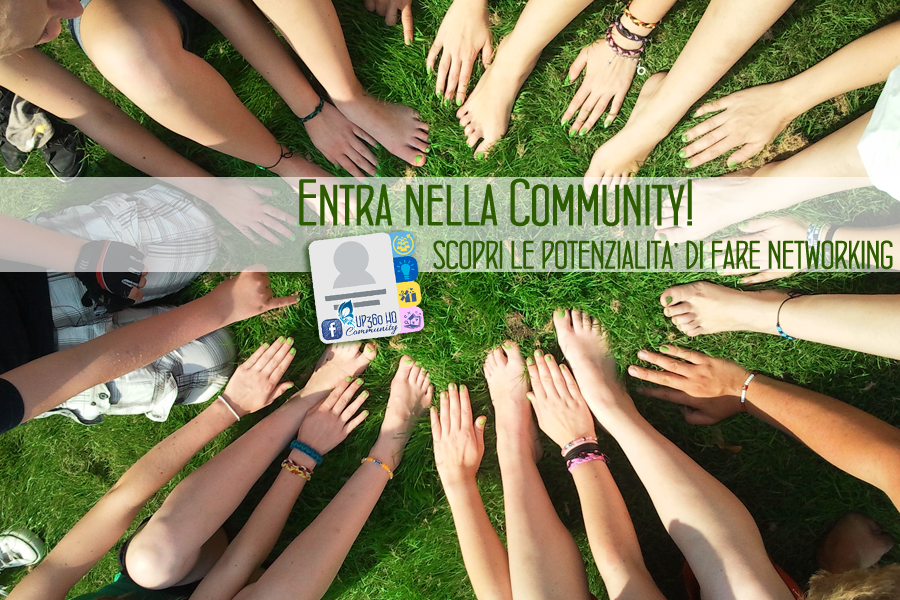 E' nata la Community UP360: un supporto GRATUITO al tuo Business!